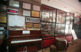 学校乐器陈列